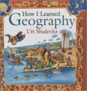How I Learned Geography, by Uri Shulevitz, ages 4-8 years: Based on a true story, a young boy leaves his home country behind as a refugee. The story talks about the hardships his family faces trying to get food and basic needs but the boy finds delight in the purchase of a map.