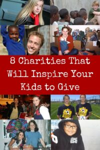 8 Charities that Will Inspire Your Kids to Give: Inspire your kids to help others by sharing stories of other kids who saw a need and went after it. All eight of these charities were founded by kids - often while they were still in elementary school!