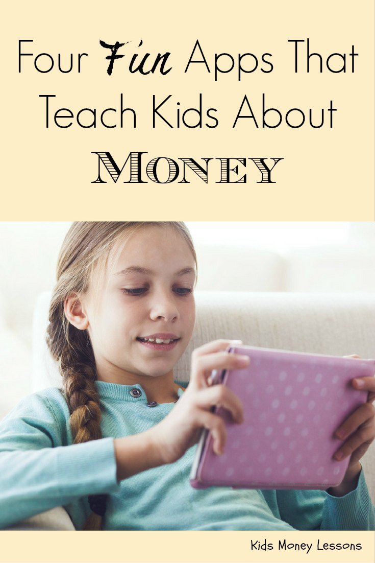 Four Fun Apps That Teach Kids About Money: My kids can't get enough of these games - and they don't even realize their learning about money & entrepreneurship! These are among the best kids apps we've ever used.