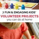 kids volunteer ideas