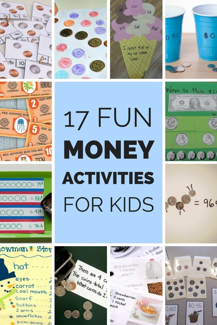17 Fun Money Activities to Help Kids Understand Coins\' Values
