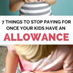 kids allowance stop paying for