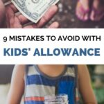 mistakes to avoid with kids allowance