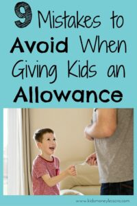 9 Mistakes to Avoid When Giving Kids an Allowance: Research shows that giving kids an allowance is beneficial, but setting it up correctly is important. Here are 9 mistakes to avoid when giving kids an allowance.