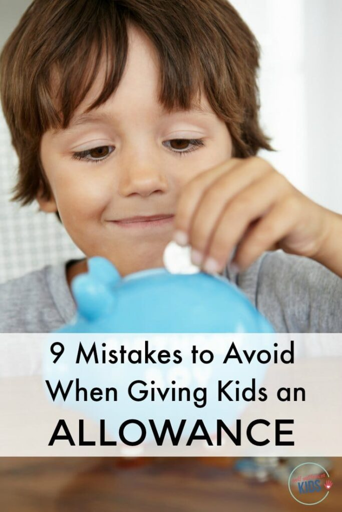 Research shows giving kids an allowance is beneficial, but setting it up correctly is important. Here are 9 mistakes to avoid when giving kids an allowance.