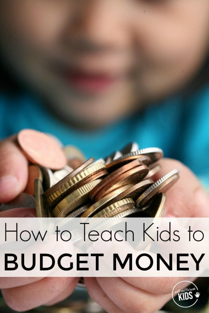 Teaching kids how to budget money is a life skill that can begin at an early age. Here are a few ways you can help your kids get started. [free printable]