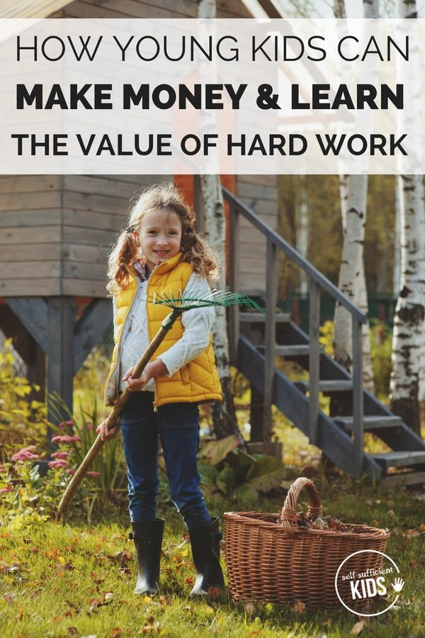 Here are a few ways young elementary school-age kids can earn money through work.