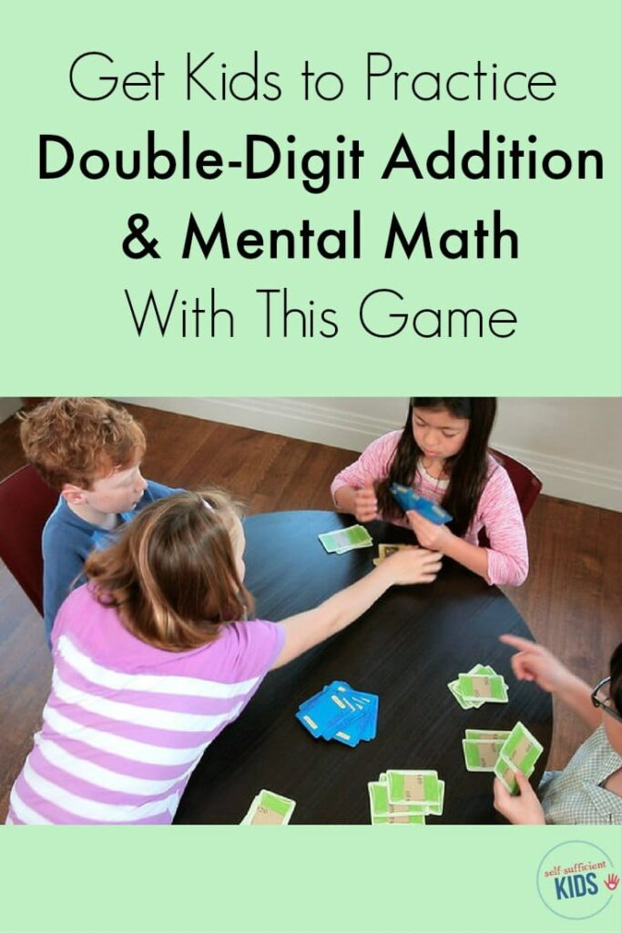 Help kids practice double-digit addition and mental math with this fun game. Kids won't even know they're learning!