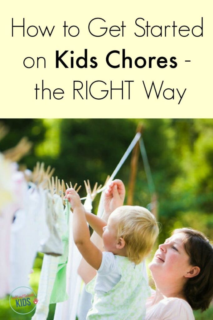How to get started on kids chores - the right way: Giving kids chores sets them up for success in many areas of life, but getting started is half the battle. Here's a guide to how to begin.