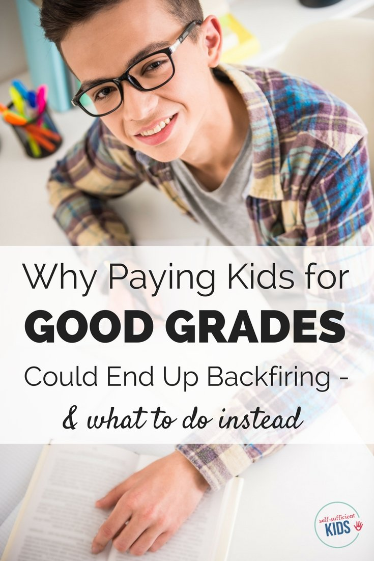Why Paying Kids To Get Good Grades Can Backfire