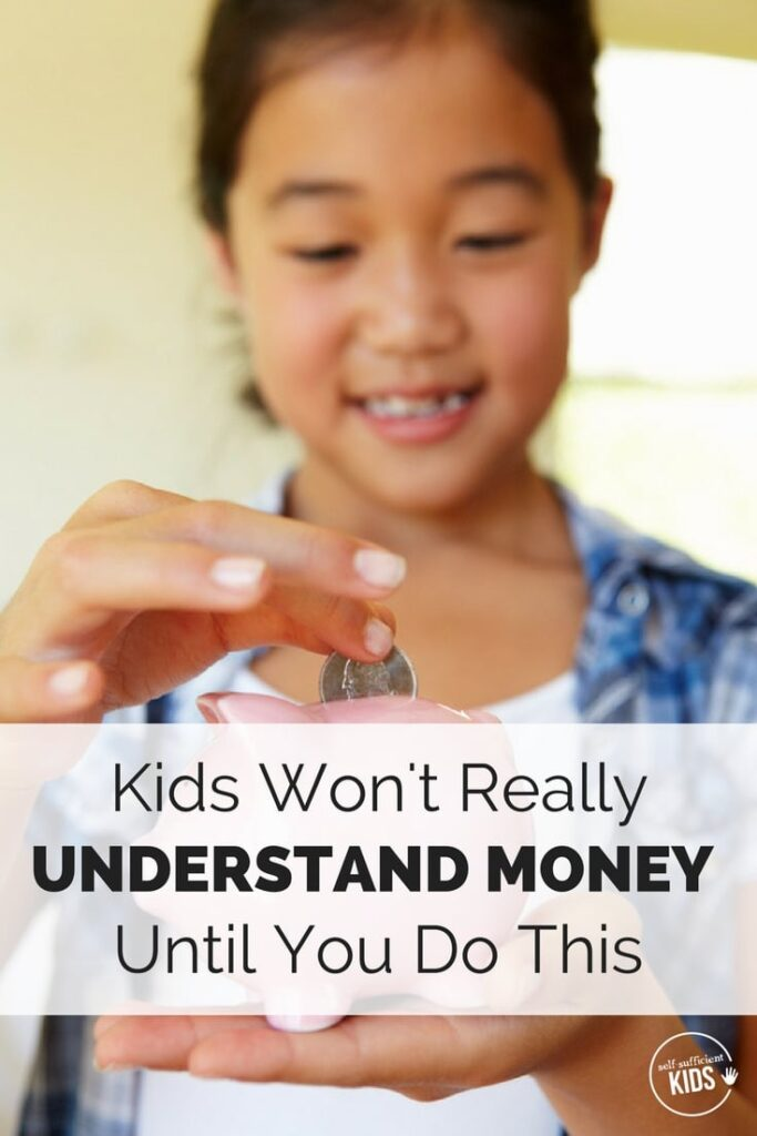 Although teaching kids about money through conversations, games or books is beneficial, there's one other thing you need to do to really help kids understand money management.
