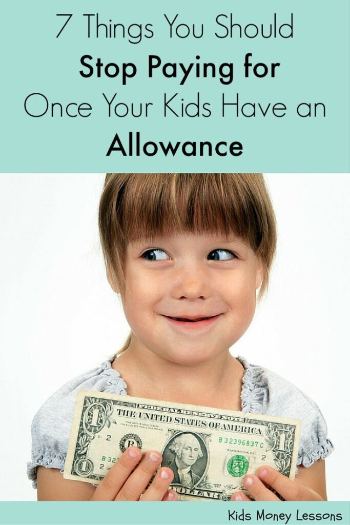 giving your child an allowance essay