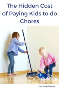 "The Hidden Cost of Paying Kids to do Chores: Should kids get paid for doing chores? Many parents say ""yes"". But research suggests pay for chores could potentially backfire on parents and do more harm than good."