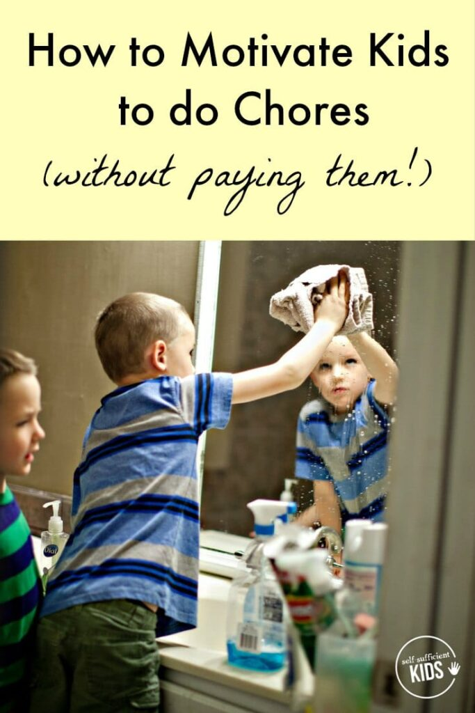 Paying kids for chores doesn't always work, and some research suggests it could do more harm than good. So what does work? Find out here! - How to Motivate Kids to Do Chores (without paying them!)