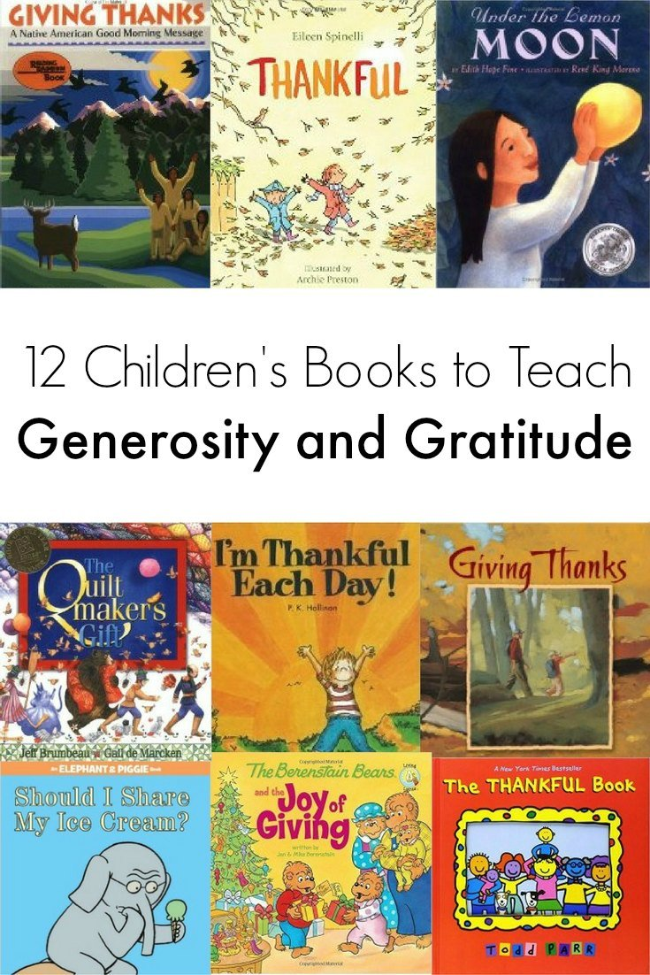 12 of the Best Books to Teach Kids Generosity and Gratitude