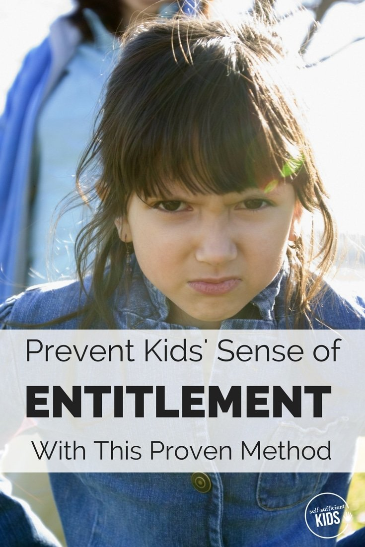Avoid raising ungrateful, entitled kids with this proven method that prevents a growing sense of entitlement in children.