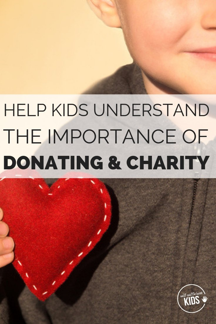 Help kids make the connection between their donation and its impact while also supporting worthy causes. #kidsdonating #kidscharity