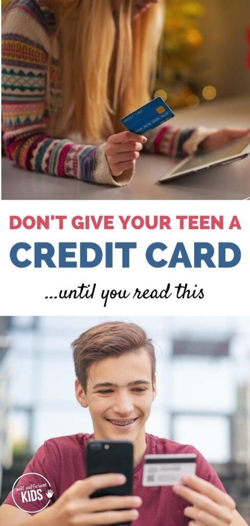 Don't give your teen a credit card until you read this