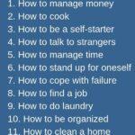 15 life skills for kids