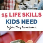 life skills kids need before they leave home