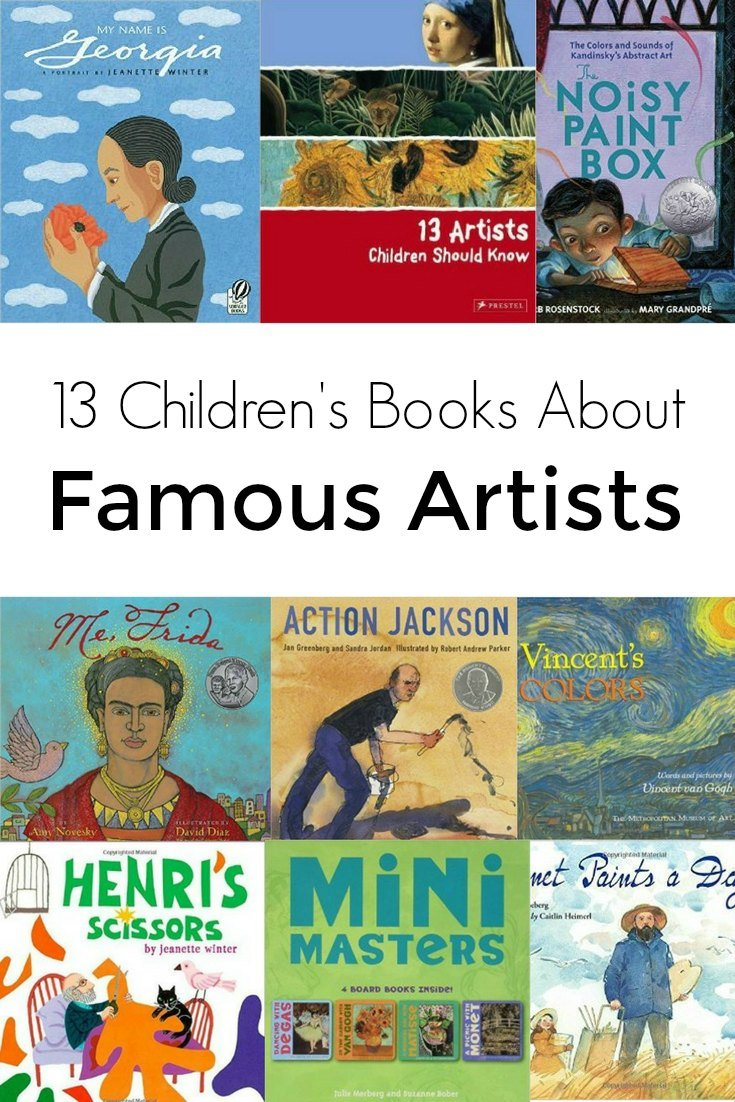 famous artists books children childrens story stories kid reading toddler determination preschoolers toddlers perseverance appreciation selfsufficientkids filed creative under young
