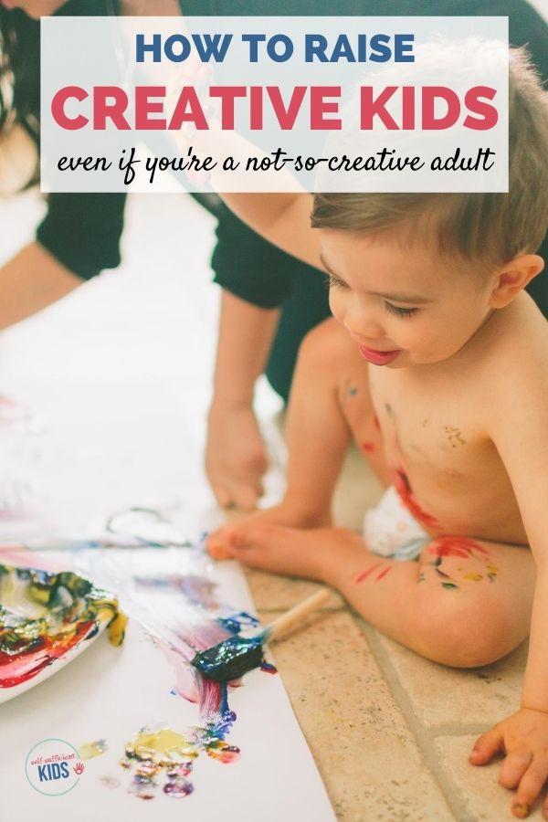 encouraging creativity in kids