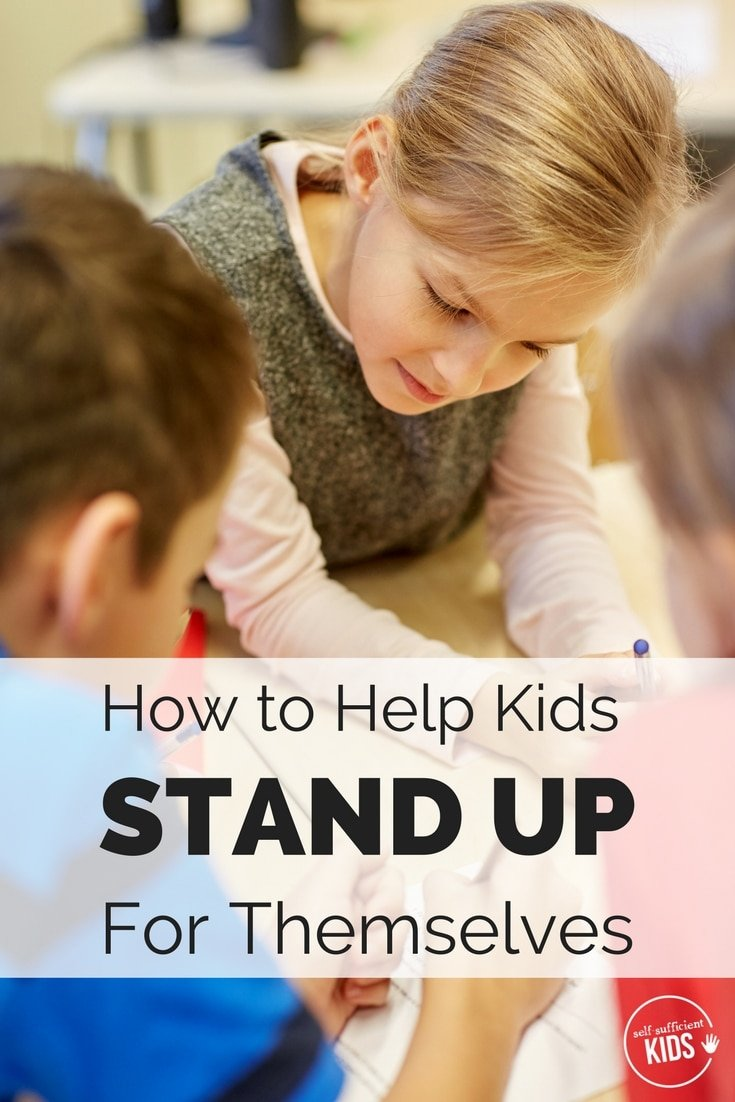 Kids need to know how to speak up for themselves, but practice is needed. Here's how parents can help. How to Help Kids Stand Up for Themselves