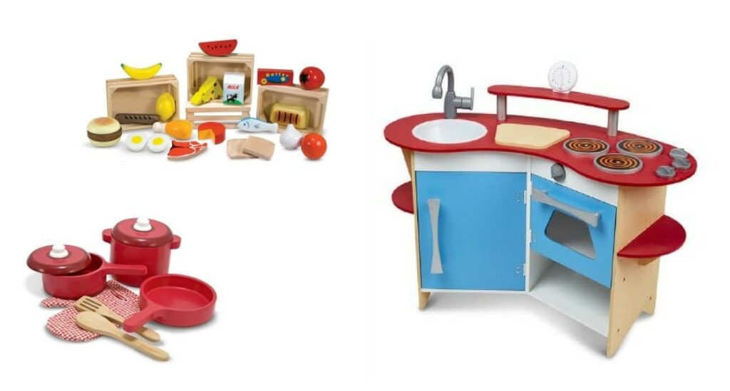 Pretend play melissa and doug kitchen