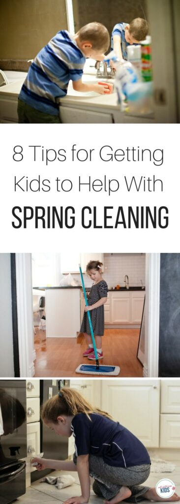 Getting kids to help with spring cleaning not only means less work for parents but also builds a life skill research says is necessary for kids' success. 8 Tips for Getting Kids to Help With Spring Cleaning