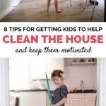 kids help clean house