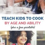teach kids to cook by age and ability