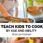 teach kids how to cook