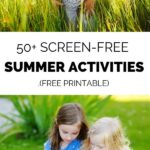 screen free kids activities