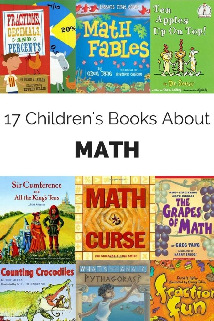 Whether your child is new to math, reluctant about math or absolutely loves math, these math books for kids are for you!