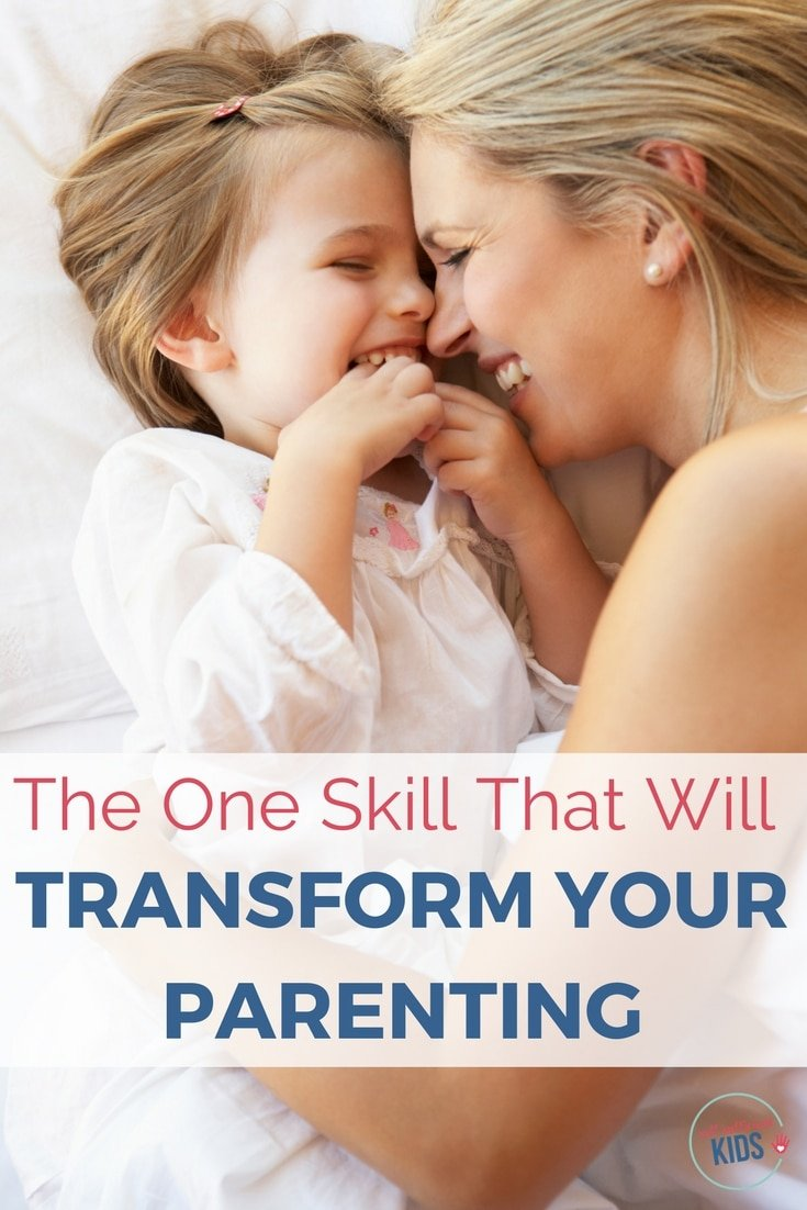 Parenting is tough. And made even tougher when kids talk back, don't listen, and distance themselves from their parents. Fortunately, there's one skill that can lighten the load - helping to calm tension between you and your kids, build your child's self-esteem and get your kids to listen to you. That one skill is…
