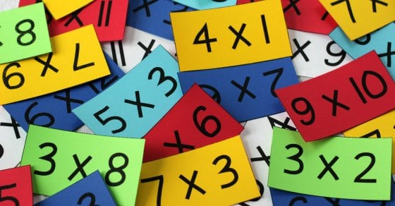Do you want your child to learn his multiplication math facts quickly? This method really works! Even for students who have been struggling to learn their math facts for years.