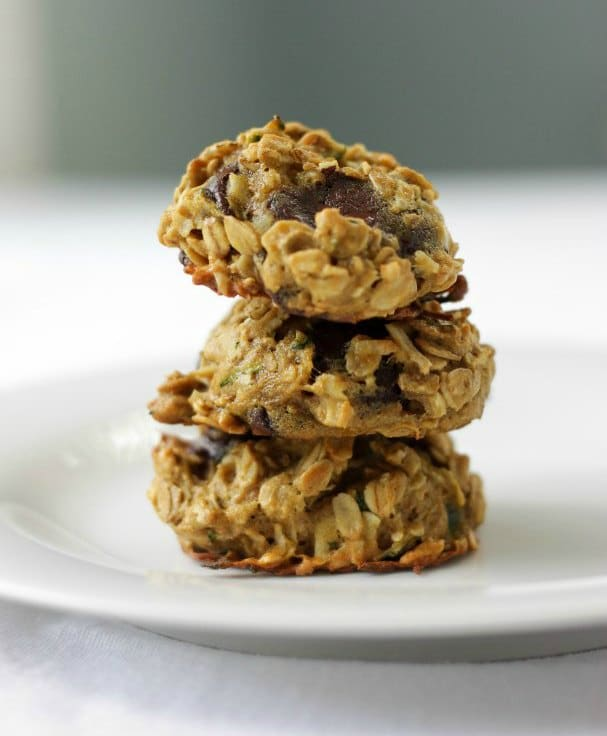 Zucchini Chocolate Chip Cookies Healthy Low-Sugar Kid-Friendly