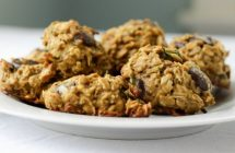 Healthy Low-Sugar Zucchini Chocolate Chip Cookies