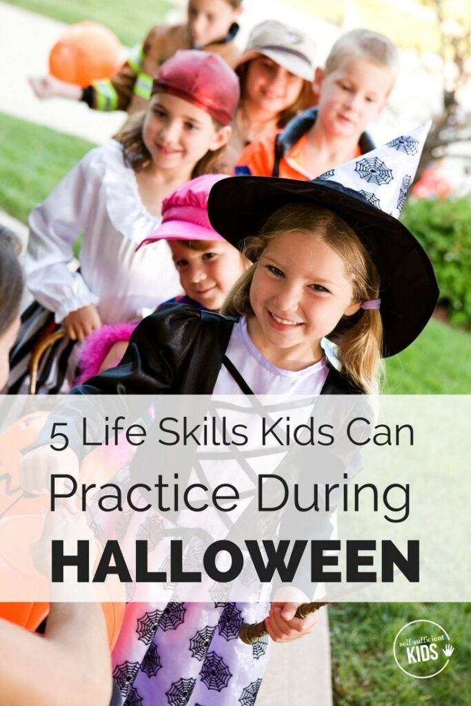 Think Halloween is just for having fun and eating lots of treats? It is. But it can also provide a great opportunity for kids to practice a number of life skills they'll need as adults.