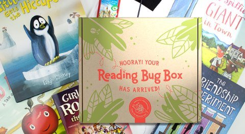 Reading Bug Box children's book subscription