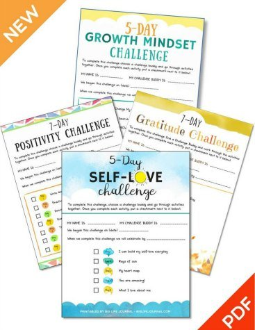 growth mindset challenge printable