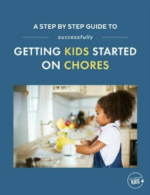 Getting Kids Started on Chores