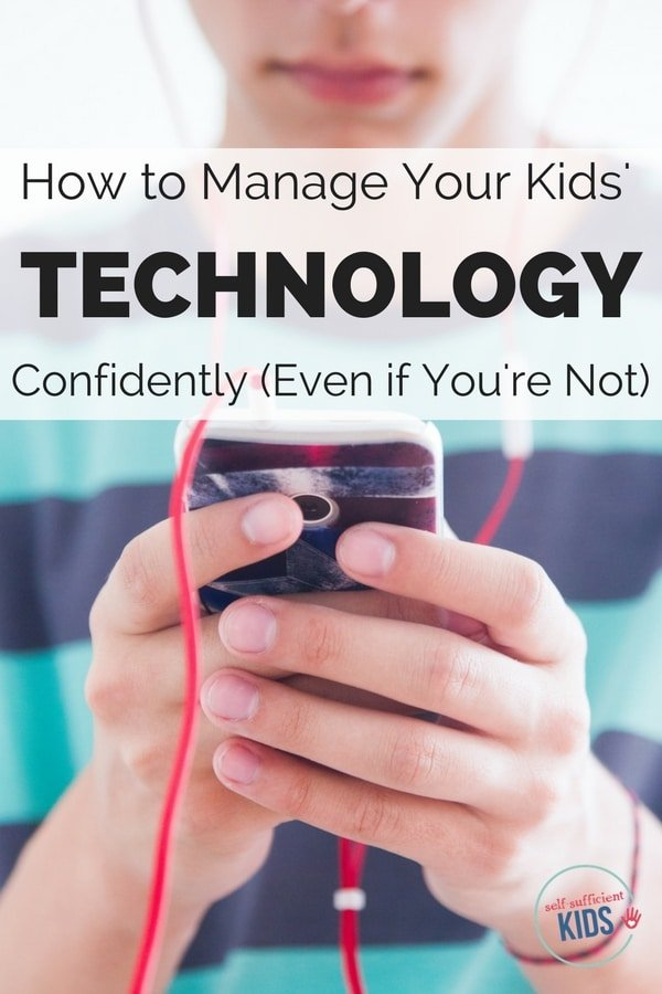 kids technology screens phones
