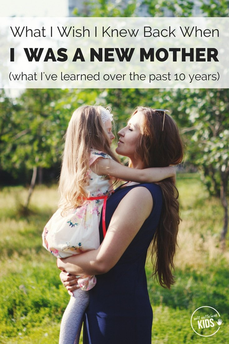 "Overwhelmed. That's what I felt as a new mother. ""If only I could look into the future and see if it all turned out OK."" I thought. Now ten years into parenthood, this is the advice I have for my former self. #advicefornewparents #parentingadvice"