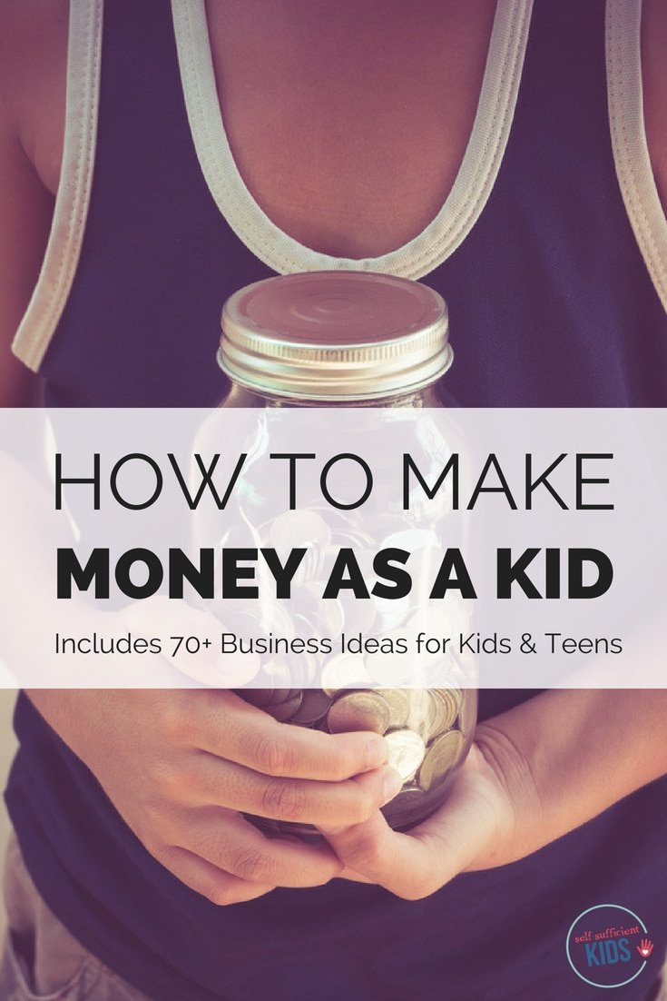 Kids of all ages can make money - even young kids! Here's the ultimate guide on how to make money as a kid.