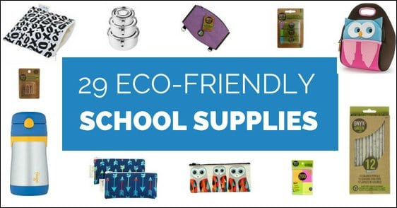Eco-friendly school supplies are not only better for the environment but also come in fun and unique designs.