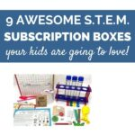 Science and STEM subscription boxes for kids
