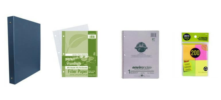 Eco-friendly paper products