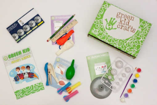 Green Kid Crafts kids craft box