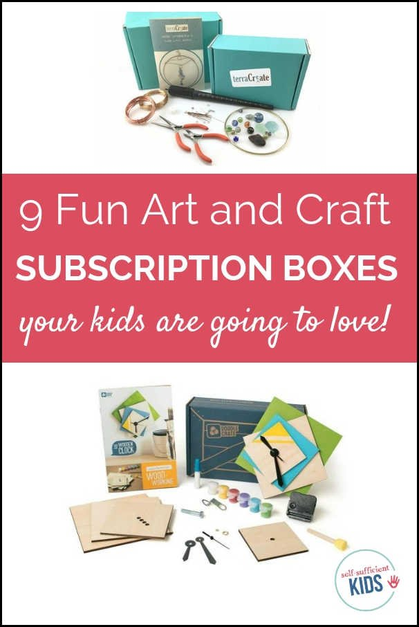 9 Fun Art and Craft Subscription Boxes for Kids